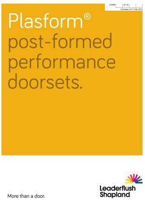 Plasform Doorsets