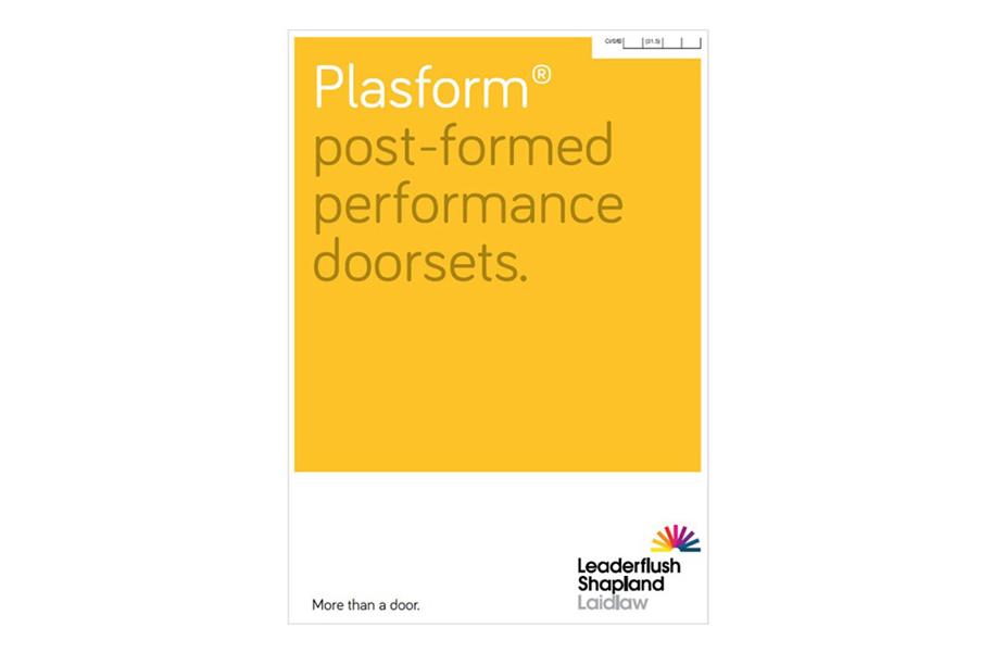 Plasform Doorsets Brochure
